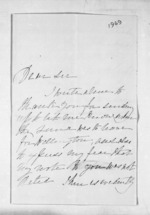 2 pages to A Bridgen, from Inward letters - Surnames, Bra - Bro
