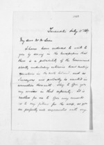 2 pages written 11 Jul 1867 by Stephenson Percy Smith in Taranaki Region to Sir Donald McLean in Wellington, from Inward letters - Surnames, Smith