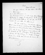 2 pages written 28 Jun 1857 by an unknown author in Wellington, from Correspondence and other papers in Maori