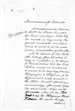 11 pages written by Sir William Fox, from Papers relating to general government - Memoranda from Premier and Cabinet