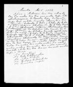 Letter from Hone Kingi, Heta Te Wherowhero, Tutere Kokohu, Hohepa Te Huruhuru and Rameka Taupiri - 2 pages, related to Hone Kingi, Heta Te Wherowhero, Tutere Kokohu, Hohepa Te Huruhuru, Rameka Taupiri, Waitemata Harbour, Manukau Harbour and Ngati Mahanga (Tainui), from Inward letters in Maori