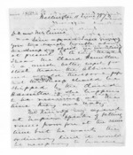 2 pages written 11 Jun 1873 by Sir Donald McLean in Wellington to John Lang Currie, from Inward letters - John L Currie