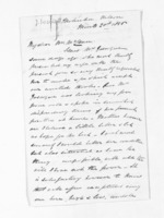 3 pages written 20 Mar 1856 by Captain John Lockett to Sir Donald McLean, from Inward letters - Surnames, Loc - Log