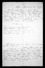 2 pages written 21 Apr 1877 by an unknown author in Napier City, from Correspondence and other papers in Maori