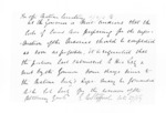 1 page to Sir Donald McLean, from Secretary, Native Department - Administration of native affairs