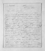 4 pages written 26 Aug 1851 by Morison Charles to Sir Donald McLean in Taranaki Region, from Inward letters - Charles Morison
