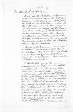 6 pages, from Papers relating to general government - Memoranda from Premier and Cabinet