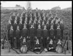School cadets from Wellesley Street Normal School, Auckland