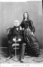 John Alexander Gilfillan and (daughter?), Melbourne, Australia