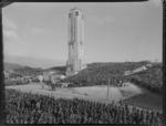 Carillon War Memorial opening, Wellington, Anzac day 1932