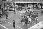 March on Parliament in support of the Maori Language