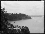 View of Campbell's Point, Parnell looking towards Auckland city