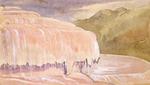[Fox, William], 1812-1893 :Corner of terrace, Otukaparinga Rotomahana.  [1864?]