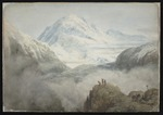 Sinclair, Alfred Wadham, 1866-1938 :Mount Aspiring, New Zealand. [ca 1890]