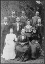 Margaret Gardner and her children