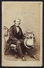 Photographer unknown :Portrait of Edward Dobson 1816-1908