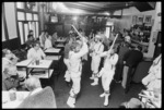 Morris Dancers performing at the Britannia Hotel, Wellington - Photograph taken by Greg King