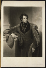Briggs, Henry Perronet, 1792-1844 :[The 1st Marquis of Normanby]  Lord Mulgrave. Engraved by Charles Turner; painted by H. P. Briggs, Esqr, R. A.  London, published 2 Jan. 1836 by Colnaghi & Company..