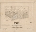 Plan of the Town of Clinton.