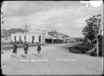 Normanby Road, Paeroa, ca 1918 - Photograph taken by Fred. E Flatt