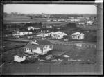 Paeroa, looking West, ca 1918 - Photograph taken by Fred. E Flatt