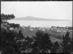 View of Rangitoto Island from Devonport