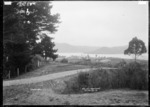 Kiwi Bay from John St., Raglan, 1910 - Photograph taken by Gilmour Brothers
