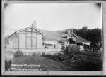 Lake House Tourist Resort, Lake Waikaremoana - Photograph taken by John William McDougall