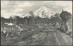 [Postcard]. Mount Egmont, Taranaki. T Avery, Bookseller, New Plymouth, N.Z. [ca 1905].