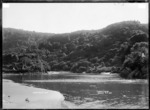 Te Rimu Creek, Raglan, 1910 - Photograph taken by Gilmour Brothers