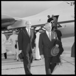 New Zealand Prime Minister Keith Holyoake, with United States Secretary of State, Dean Rusk
