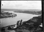 View of Wanganui near the mouth of the Whanganui River