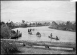 View of Opotiki from the wharf
