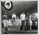 Evacuees from Vietnam, at Whenuapai Aerodrome, Auckland