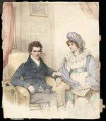 Artist unknown :[Sir John and Lady Richardson. 1830-1838?]