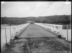 Opotoru Bridge, over the Opotoru River, near Raglan Harbour, 1910 - Photograph taken by Gilmour Brothers