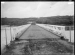 Opotoru Bridge, over the Opotoru River, near Raglan Harbour, 1910 - Photograph taken by Gilmour Brothers