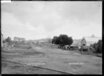 View of Vincent and Lynch Streets, Ngaruawahia, 1910 - Photograph taken by G & C Ltd