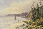 Chapman, Ernest Arthur, 1847- :[Coastal scene.  ca 1900]