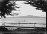 View of Rangitoto Island from Cheltenham Beach, Auckland