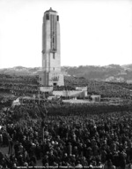 Dedication of the Carillon in Wellington