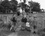 Children at the Polish refugee camp in Pahiatua