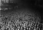 Election night crowd, Wellington