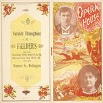 Opera House, [Wellington] :Mr Bland Holt ... Mrs Bland Holt ... Programme   [30 November 1897].