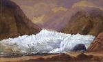 [Fox, William]  1812-1893 :Francis Joseph glacier, Waiho River, Westland, New Zealand.  [1872]
