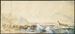 Park, Robert  1812-1870 :Rough sketch of the wreck of the Tyne on the 6th July 1845 / R. Park. - [1845?].