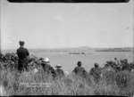 Viewing the Ponsonby Regatta from Northcote Point, Auckland