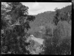 Launch on the river, Mokau