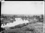 The Waikato River at Ngaruawahia, ca 1910