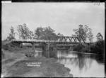 Waipa rail bridge, Otorohanga
